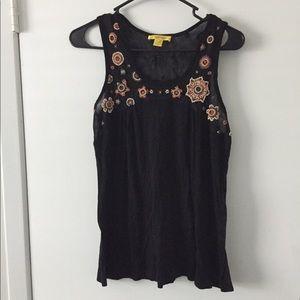 Cathrine Malandrino sleeveless blouse Large